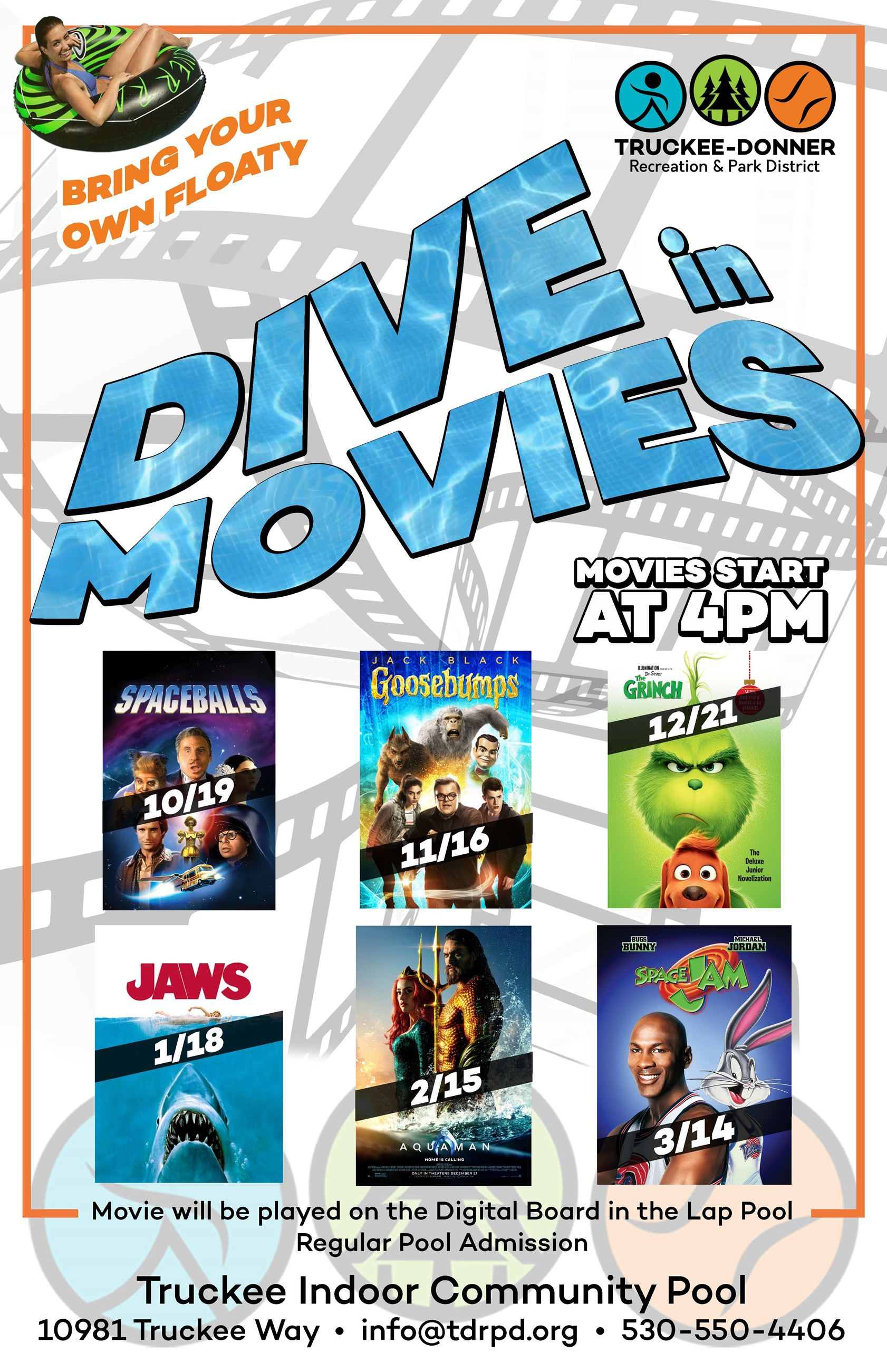 Dive In Movie Series