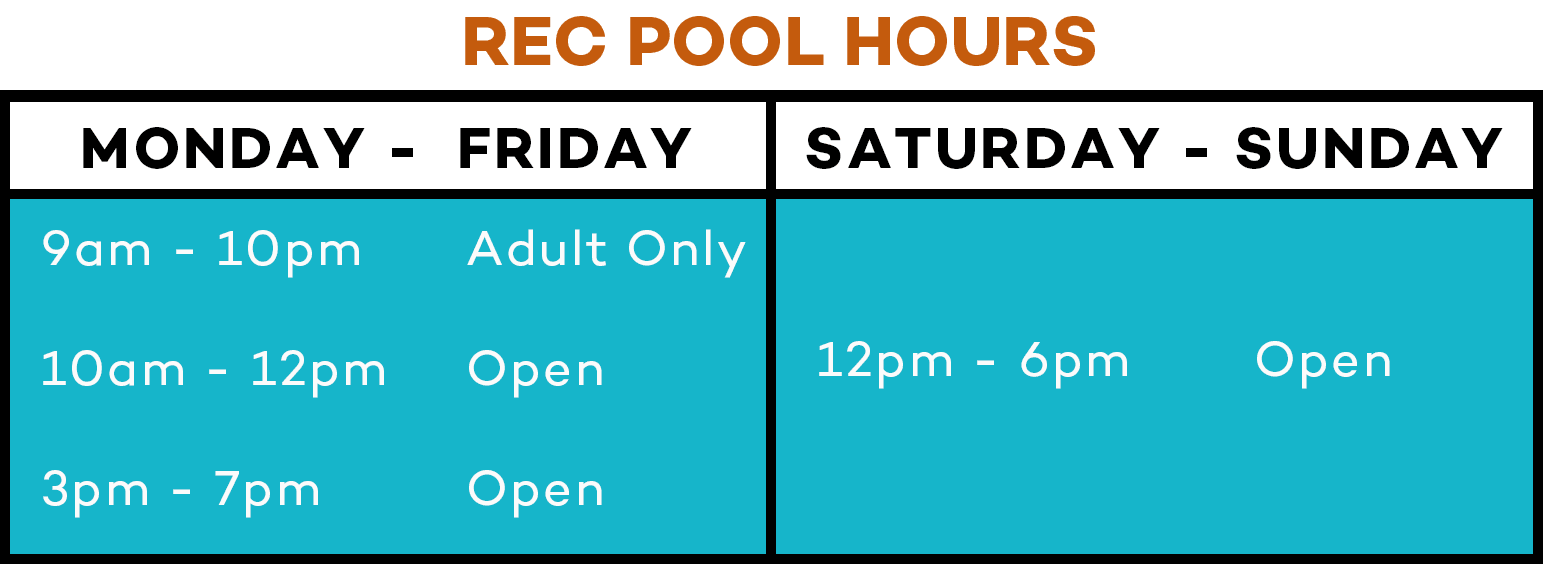 Rec Pool Hours Winter