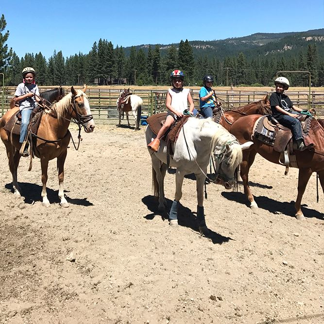 Camp Rad Horseback Riding