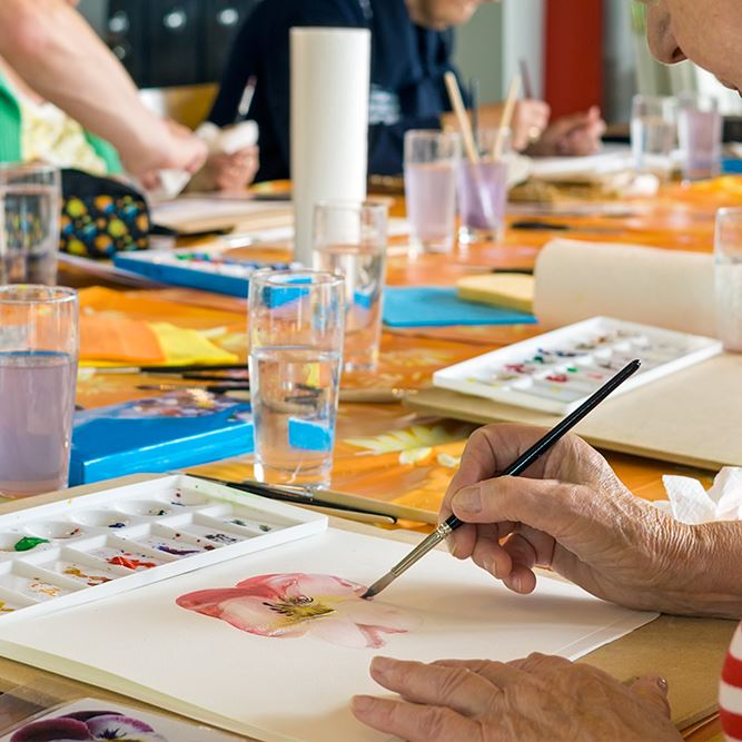 Watercolor Class Opens in new window