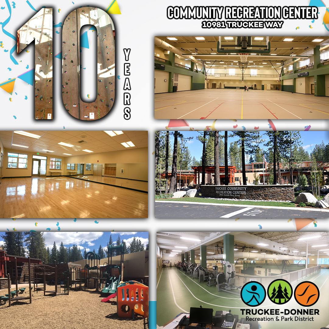 10 Year Annyversary Recreation Center